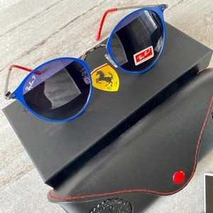 NWT RB3602 Ferrari Combined polarized Sunglasses 51mm